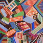 """Acrylic on Canvas, 12"""" x 12"""", 2015"""