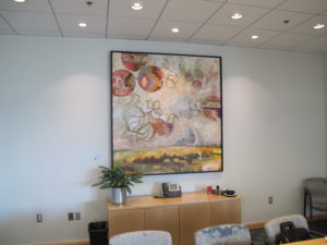 Harvest,Oil on Canvas, 67″ x 71″