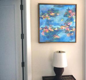 """Miami Commission, Oil On Canvas, 30""""x 30"""", Miami, FL, 2018"""